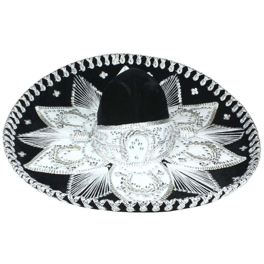 8230. Sombrero genuino de charro mexicano.  0103de585b9